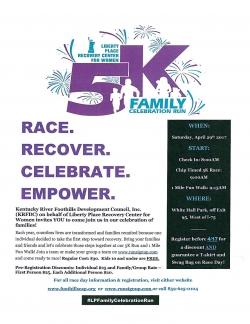 Liberty Place Recovery Center for Women 5K Family Run!